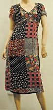 Spring Patterned Dress Size 14, Orientique, supporting PSC Co-op Ltd