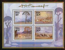 SUDAFRICA/RSA SOUTH AFRICA 1989 MNH SC.774/777a J.Hendrick Pierneef,painter
