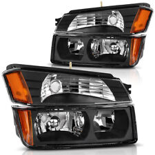 For 2002 2006 Chevy Avalanche Body Cladding Signal Bumper Headlights Lamps Black Fits More Than One Vehicle