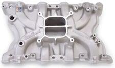 EdelBrock 2171 Performer SBF Aluminum Intake 400 351M Small Block Ford Satin
