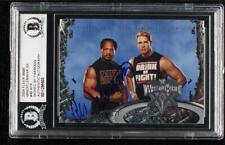 2004 Fleer WWE Wrestlemania XX Faarooq Auto #46 BAS Certified BGS Encased