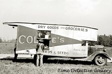 Traveling Grocery Store, Forrest City, Arkansas - 1938 - Historic Photo Print