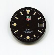 Tag Heuer Dial Genuine Factory GMT Professional 200 Meters Black