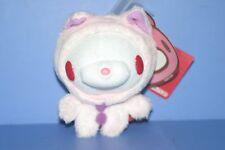 "Chax-GP Baby Gloomy Bear White Pink Cat Plush Doll Keychain TAITO 4.4"" CGP261"