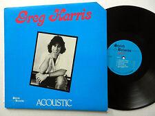 GREG HARRIS acoustic LP Banjo Mandolin Fiddle Fender Rhodes