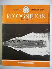 The Royal Observer Corps Recognition Journal. Vol. 3. No. 2. February, 1961.