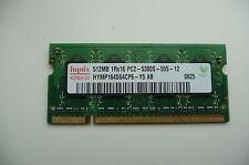 Hynix 512 DDR2 667Mhz PC2-5300 SDRAM 200-Pin Non-ECC SO DIMM Memory for Laptops