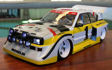 TBG S1 QUATTRO BODY FOR TOURING CAR for tamiya audi carson chassis xray losi
