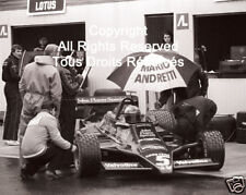 Lotus Mario Andretti F1 Formula One 1978 Photo #18