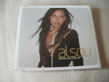 ALSOU - BEFORE YOU LOVE ME - UK CD SINGLE