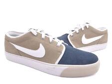 Nike Men's Toki Low Leather Shoes - Gravel - UK 9.5 - New