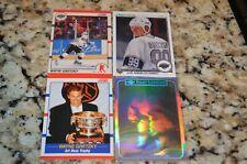 Wayne Gretzky hockey card lot 1990 Score 1991 Upper Deck superstars hologram