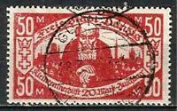 Germany (Weimar Rep.) Danzig 1923 Used - Poor Peoples Fund 50+20 Mi-131 SG-123c