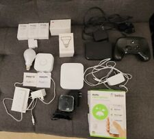 Lot of Smart Devices. Fitbit, Phillips Hue, SamsungThings, WeMo, Steam, Sensors