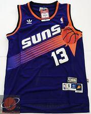 NWT Throwback Swingman Basketball Jersey STEVE NASH 13 Phoenix Suns Purple Men
