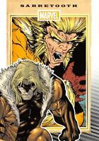 SABRETOOTH / Marvel 75th Anniversary (2014) BASE Trading Card #70