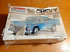 VINTAGE 1978 MONOGRAM Model '56 CHEVY Kit #2239