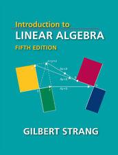 Introduction to Linear Algebra Fifth Edition Gilbert Strang⚠️Read Description👇