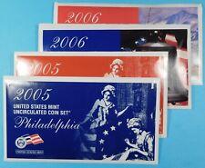 2005 & 2006 US  Mint set in original Mint envelope - Unc. - Denver & Philadelphi
