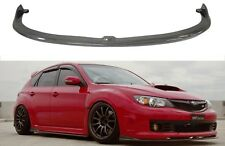 Fits 2008-2010 Impreza STI CS II Style Front Bumper Lip Spoiler Carbon Fiber NEW
