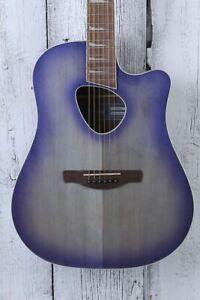 Ibanez Altstar ALT30 Acoustic Electric Guitar Purple Iris Burst High Gloss