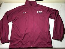 Florida State Seminoles FSU Nike Dri-Fit Full Zip Athletic Jacket • Size M