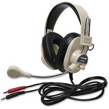 Califone Rugged Headset 2 3.5mm Plugs Beige 3066AV