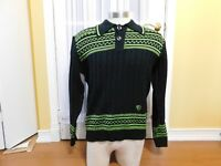 Pre-owned Arcticwear Black & Green Sweater Size Large