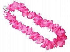 Hawaii PARTY Neon Rosa Petalo Fiore Ile HULA COSTUME GHIRLANDA Collana 9.5 cm