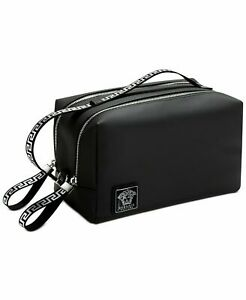 Versace Parfums Large Toiletry Case Pouch Travel Bag with dust bag NEW