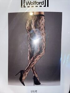 Wolford Lilie Tights size: Extra-Small Color: Java 19164 - 14