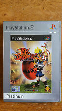 JAK AND DAXTER - The Precursor Legacy Playstation PS2 - Platinum - FREE UK P&P