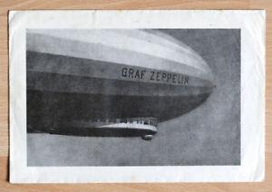 """orginal Brief Stempel """"Graf Zeppelin"""" LZ127 Stuttgart 1934 rare"""
