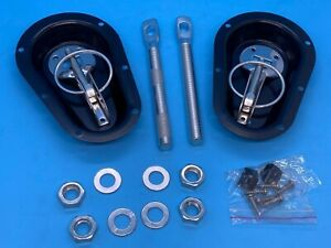 New Competition Recessed Steel Bonnet Pin Kit - Track Day