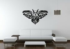 Wall Sticker Mural Decal Vinyl Decor Owl Bird Of Prey Hunter At Night