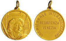 Medaglia Trentennale Interassociativo Resistenza Venezia Venice  #A161