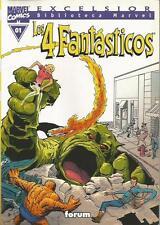 Lote 24 Tomos Biblioteca Marvel Excelsior LOS 4 FANTÁSTICOS (01-03 y 1-21) Forum