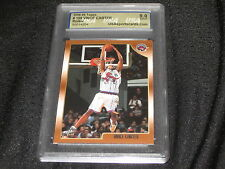 VINCE CARTER RAPTORS 1998 TOPPS #199 ROOKIE AUTHENTIC BASKETBALL CARD MINT 9