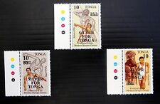 TONGA 1997 Olympic Sport Surcharges (3) SG1378-80 U/M FP8393