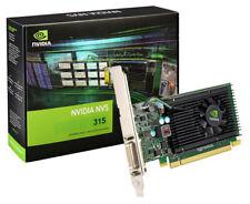 PNY NVIDIA NVS 315 Video Graphics card 1GB DDR3 VCNVS315DVI-PB DmS59 DVI VGA