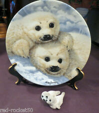 Baby Seals, By Mike Jackson, Collector's Treasury, Free gift, Arctic Beauties!