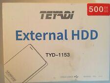 500GB 2.5in Portable External Ultra Slim Hard Drive