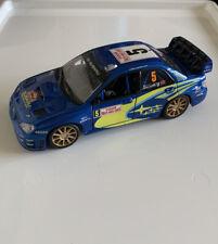 Burago Subaru Impreza WRC 2008 Rallye Monte-Carlo Solberg No.5 ,Die Cast Toy Car