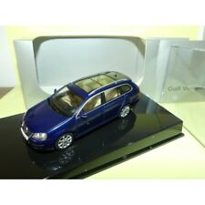 VW GOLF V VARIANT  Bleu Blue Shadow AUTOART 1:43