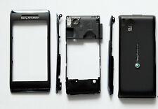 Black Housing Cover Facia Fascia Faceplate case for Sony Ericsson Aino U10