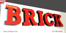 """New Led Channel Letters business sign - 24"""" - Custom made"""