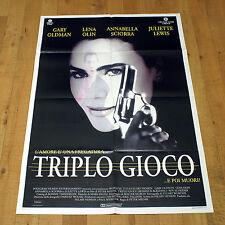 TRIPLO GIOCO E POI MUORI manifesto poster Romeo Is Bleeding Gary Oldman Olin