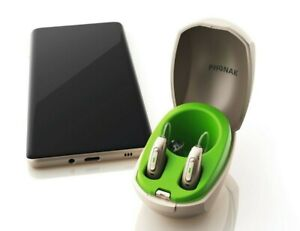 PHONAK Audeo Paradise P50 RIC's - Pair - Bluetooth - Rechargeable - USA