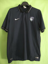 Polo HAC Havre Athletic Club Football Vintage Nike Maillot Marine Jersey - L