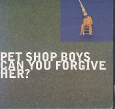 Pet Shop Boys - Can You Forgive Her cd Card Sleeve